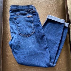 Hudson cuffed Jeans.